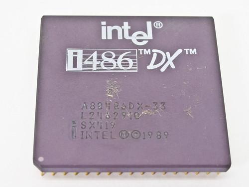 Intel i486DX CPU A80486DX-33 (SX419)