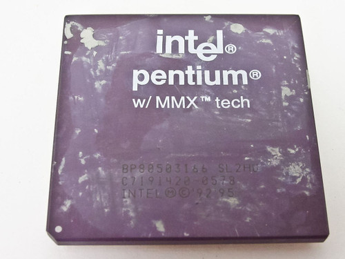 Intel  P1 166Mhz Processor A80503166  SL2HU