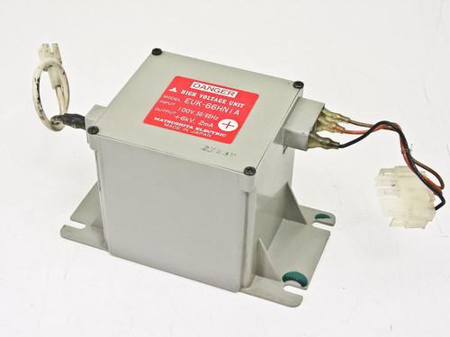 Matsushita High Voltage Unit 100V, 50/60Hz, &6kV, 2mA EUK-66HN1A