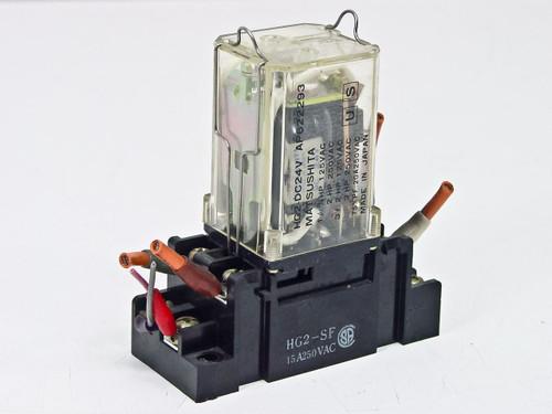 Matsushita Relay Power Cube w/ HG2-SF Direct MNT (HG2-DC24V)