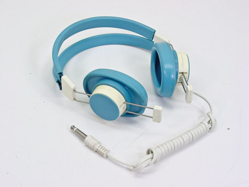 "Telex Headset (610-1) 600 Ohm - Blue Soft Vinyl .25"" Phone Plug"