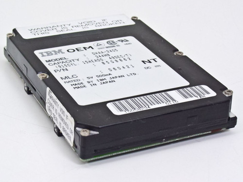 IBM 344MB Laptop Hard Drive-DHAA-2405 85G8862