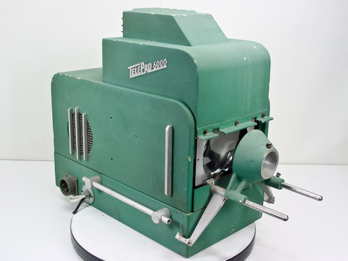 TelePro 6000 Vintage Slide Projector by TelePrompter Corp Model 300
