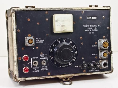 Photo Sonics Inc. Power Supply 16mm-1B