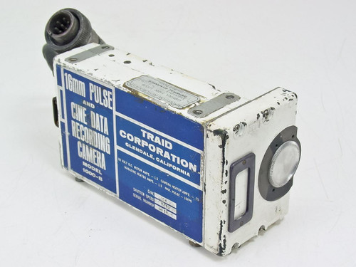 Traid Corp. 16mm Pulse and Cine Data Recording Camera 1000-B