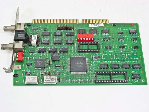 Wang Dual Coax Network Card 16-bit ISA (9754-1A)