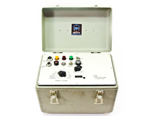 Traid High Speed Film Camera Intervalometer Controller In Hard Case