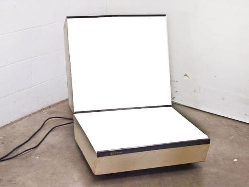 "Multiplex Custom Dual Table Light Box  25"" x 20"" and 25"" x 22"" Viewing 115 Volt"