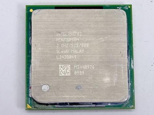 Intel Pentium 4 3GHz Socket 478 512KB/800MHz P4 CPU (SL6WU)