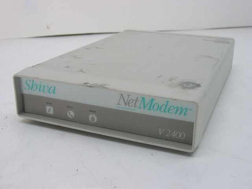 Shiva Net V2400 Modem with Power Supply - Legacy