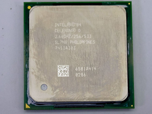 Intel P4 Celeron D 2.66Ghz CPU (SL7NV)
