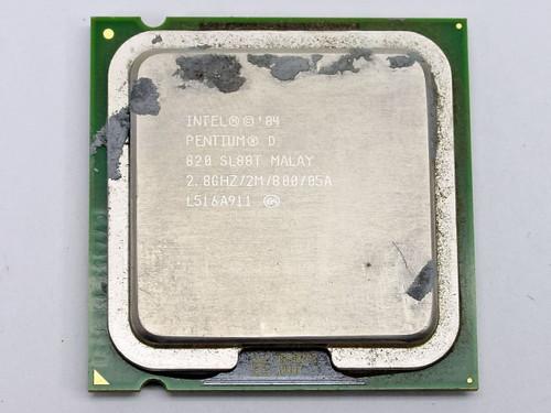Intel SL88T Pentium D 820 2.8GHZ 800 MHz