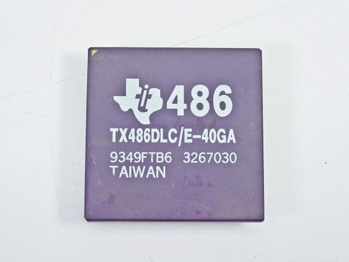 Texas Instruments 486 40MHz Processor (TX486DLC/E-40GA)