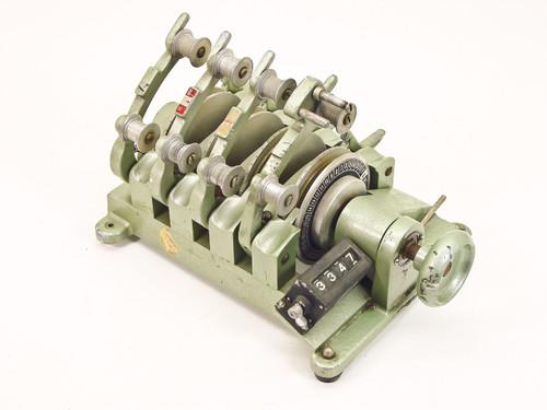 Moviola 4 Gang 16mm Magnasync Film Synchronizer  SZD a