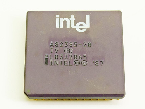 Intel 386 20 MHz 132-pin Controller Chip (A82385-20)