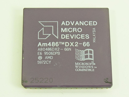 AMD 66 MHz 168-pin CPU (A80486DX2-66N)