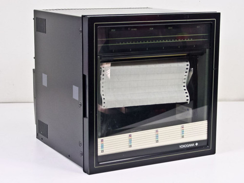 Yokogawa uR180 Chart Recorder *Damaged Screen* 4176-500 32/BU/AK-12/REM