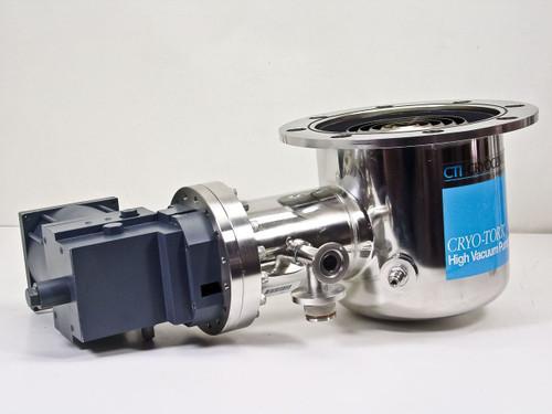 Helix CTI-Cryogenics Cryopump 8107817G001 Hi-Torr High Vacuum Pump 8F
