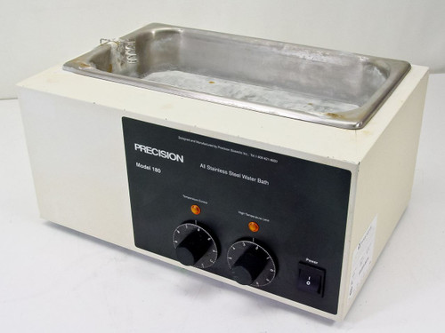 Precision Scientific 180 All Stainless Steel Water Bath (66630)
