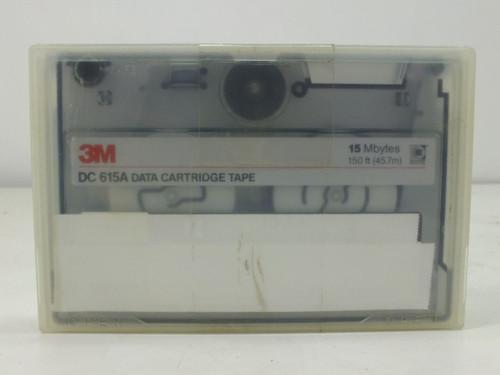 """3M 15MB SLR 5.25"""" QIC Tape (DC615A)"""