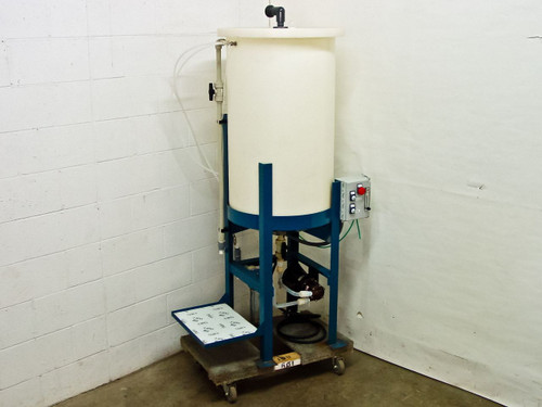 Ryan Herco Flow Solutions Conical Drum w/Stand and Magnetic Pump 55 Gallon