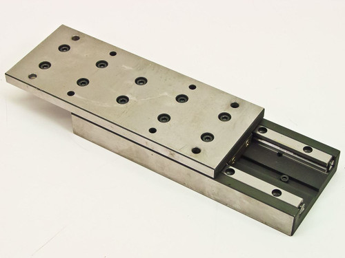 "Generic Micropositioner slide with 5.25"" with range of motion (8.125"" x 3.125"")"