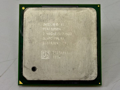 Intel P4 2.4GHz 512KB 533MHz Processor Chip (SL6PC)