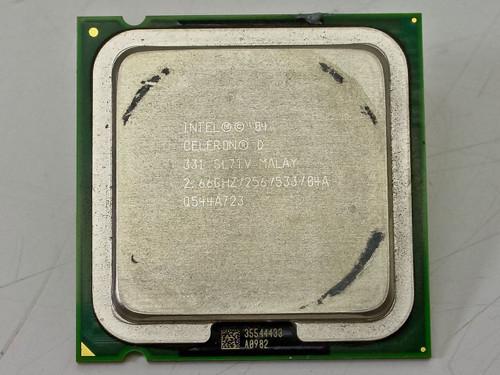 Intel  P4 Celeron D 331 CPU 2.66GHz SL7FV