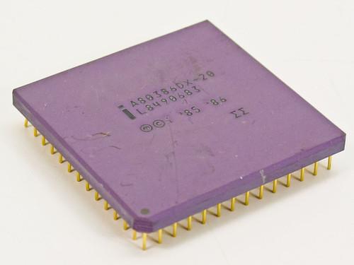 Intel A80386DX-20 386 Processor 32-BIT 5V 20MHz CPU