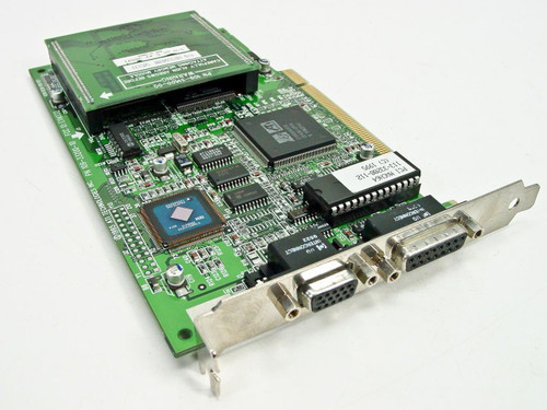 ATI PCI Video Card MACH64 GT W/Memory Module 100-31602-00 (109-33200-10)