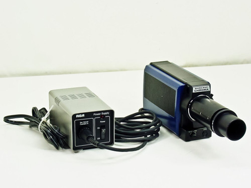 Techni-Quip Low Light Camera with RCA Power Supply TC5001PS (Micro-Mac Chroma)