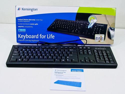 Kensington Keyboard For Life Keyboard - PK1100U (K64370A)