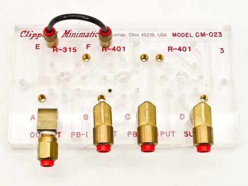Clippard Minimatic Pnuematic Circuit Board (CM-023)