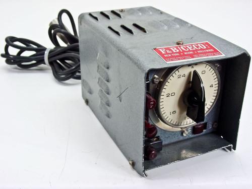 Kobold F&B / CECO 8/12/30 Volt Battery Charger w/ 24HR Timer - Input: 115 / 220