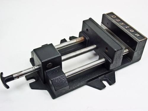 """Dayton 8"""" Sliding Vise Press (Metal)"""