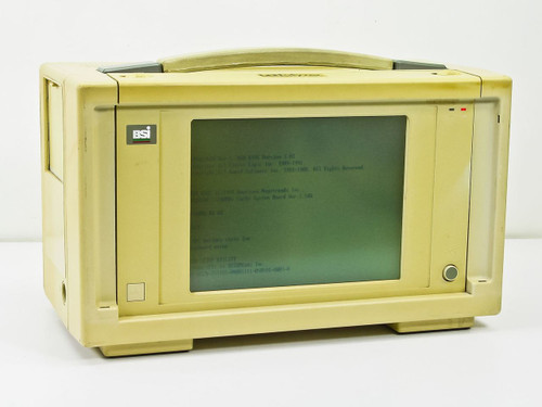 Novell Intel 386DX-33 Mhz 120 MB Hard Drive Portable ISA Slot Lunchbox Computer