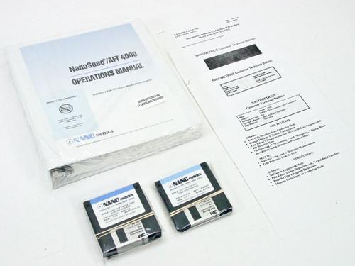 Nanometrics NanoSpec AFT 4000 Operations Manual with Software (7500-0926)