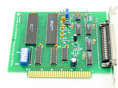 Dison 36 Pin Serial Card 8-Bit ISA - REV B (AMC285)