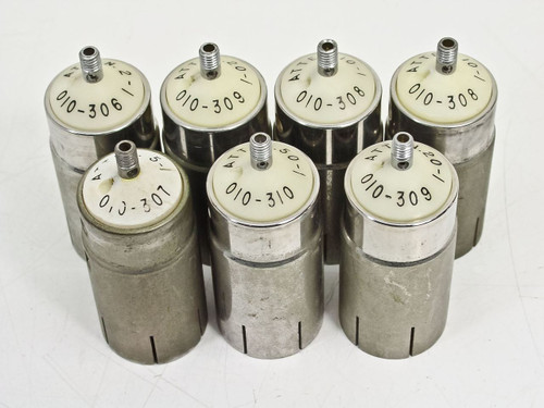 Tektronix Lot of 7 010-306 010-307 010-308 010-309 010-310 Set (Attenuator)