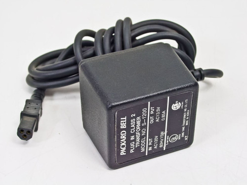 Packard Bell  3 Pin Female 13.5 0.85A Power Supply S-1200