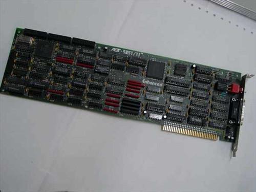 AST 8 Bit ISA 5251/11 Enhanced Twinax Emulator Card 202139-002