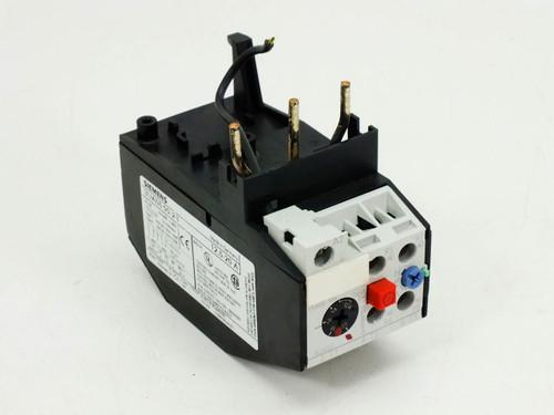 Siemens 3ua55 00 2b Motor Starter Overload Relay