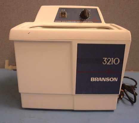 Branson 3210 Ultrasonic Cleaner W Heat W Timer 1 5 Gallon
