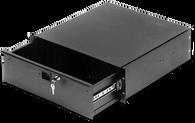"""Penn Elcom R1294K/18 Black 4RU 18"""" Deep Steel Rack Drawer"""