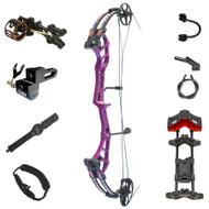 PSE Stinger Extreme Compound Bow - Purple w/ AM Package