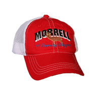 Morrell Red (White Mesh Back) Cap