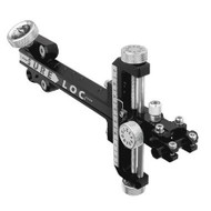 "Sure-Loc Supreme 400 With 6"" Extension - Black"