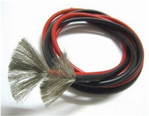 18 AWG Silicone Wire Red/Black 3'