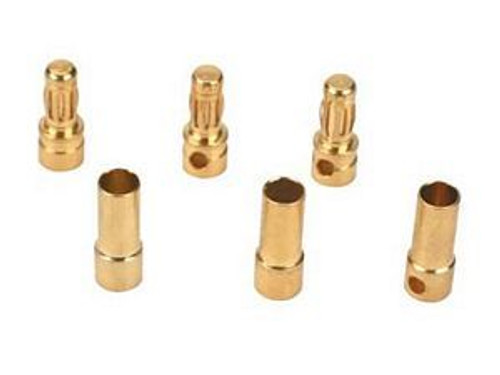 3.5mm bullet 3 Female & 3 Male package