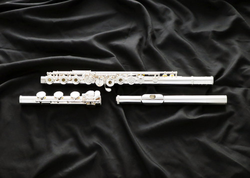 Featuring a hand-cut sterling silver headjoint and the same high-quality craftsmanship found in the GX and DS models, the Muramatsu EX is the ideal choice for the advancing flutist